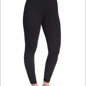 Spanx Ponte Black Leggings Plus Size 1x Petite